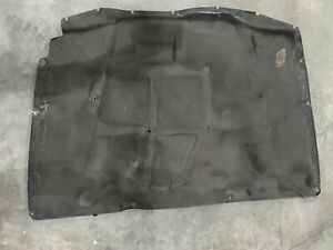 Toyota Supra Oem 93 98 Hood insulation Pad Liner Heat Shield 5334114110 W Clips