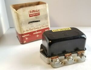 Nos Fomoco 1958 61 Ford Trucks Voltage Regulator C1tf 10505 D
