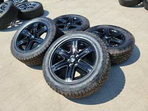 20 Ford F 150 Expedition 2020 Oem Fx 4 Black Rims Wheels Tires 2021 10143 New
