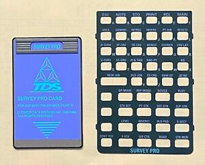 Tds Surveying Pro Card For Hp 48gx Calculator