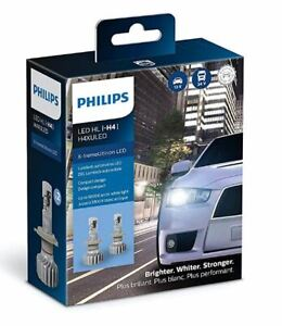 H4xuled Philips Ultinon Led Pack Of 2 H4 Headlights 200 Brighter 11342xux2