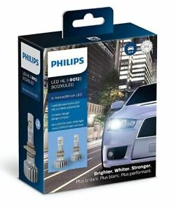 9012xuled Philips Ultinon Led Pack Of 2 9012 Headlights 200 Brighter 9012xux2