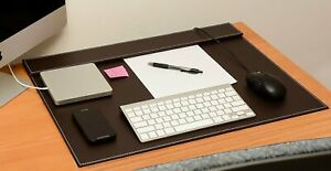 Conference Pad Pu Leather Desk Writing desk Mat file Paper Clip Drawing Board