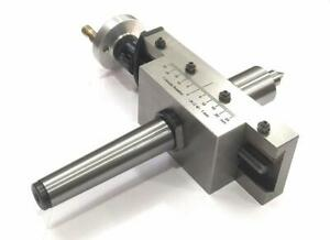 New Improved Taper Turning Attachment With Revolving Live Center mt3