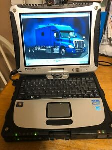 Diesel Diagnostic Laptop Cf 19 Toughbook Covers 2020 Major Engines And Trucks