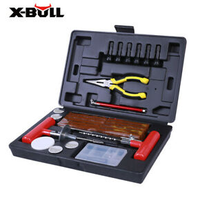 X bull Tire Repair Kit Tools 102pcs Diy Plug Flat Punctured For Car Truck Atv