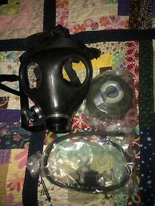 Vintage Brand New Drager Gas Mask Cartridge Ppe Protective Equipment War