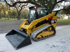 2016 Cat 289d Skid Steer Loader A c Cab High Flow Xps Radio 2 Speed Qt