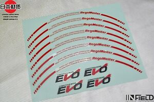 Japan Material 18 Evo Regamaster High Quality Replacement Decal Sticker R059