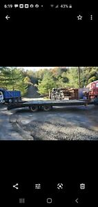 1993 Equipment Trailer 20 Ton Air Brakes New Tires And Brakes 19ft To Tail
