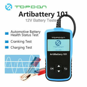 Battery Tester Digital Automotive 12v 100 2000cca Analyzer Protable Load Tester
