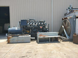 Waukesha L7042gsi 1000kw 480v Natural Gas Generator Set