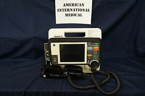 Lifepak 12 Biphasic W pacing Nibp Spo2 Paddles 1 Year Warranty Included