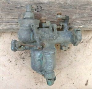 Brass Van Briggle Carburetor H 1 Original 61890 Vintage Model T Ford