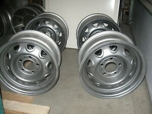 4 Very Nice 14x6 Rally Wheel Dodge Plymouth Chrysler All Redone Read For Cost