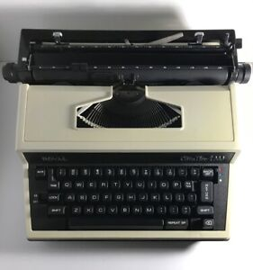 Vintage Smith Corona Cavalier 1200 Portable Electric Typewriter Vg see Details