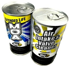Bg Extended Life Moa Gdi Air Intake Valve Cleaner 2 Cans Total Gdi