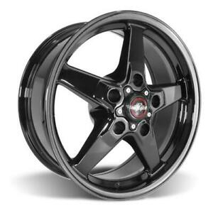 2000 04 F 150 Svt Lightning Race Star Dark Star Wheel 17x7 Direct Drill