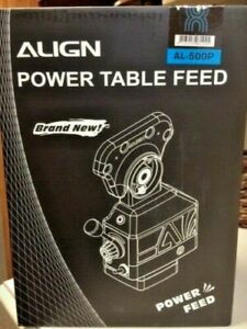 Align Brand Al 500p Z axis Power Feed For Milling Machine Brand New