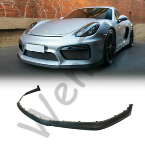 Gt4 Style Front Lip Pp For 2016 Porsche 981 Boxster Spyder 981 Cayman Gt4