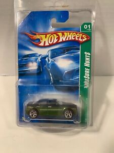 Hot Wheels 2008 Rlc Set Super Treasure Hunt Chrysler 300c With Real Riders Green