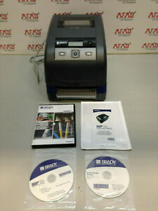 Brady Bbp33 Label Printer With Software