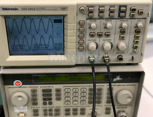 100 Test Tektronix Tek Tds1012 Oscilloscope 100 Mhz 1gs s 2 channel 1pc