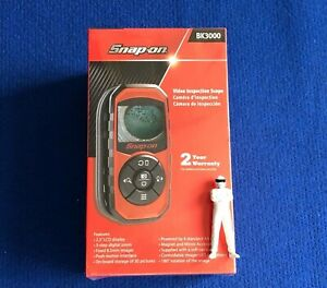 Snap On Video Inspection Scope With 2 5 Lcd Display Digital Zoom Bk3000 New