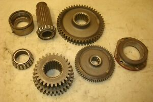 International Ih Farmall Gas 706 Transmission Bottom Gears