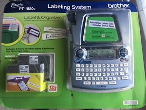 Brother P touch Pt 1880c Label Organize Labeling System New