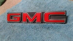 1973 1980 Chevrolet Truck Parts Gmc Emblems Badges Trim Original Oem Vintage