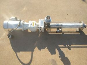 Seepex Bcso 2 12 Progressive Cavity Pump Commission No 822731 2 Stainless Steel