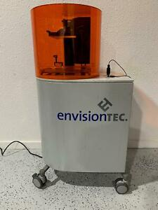 Envisiontec Perfactory Iii Standard Sxga High Resolution 3d Printer 110k Msrp
