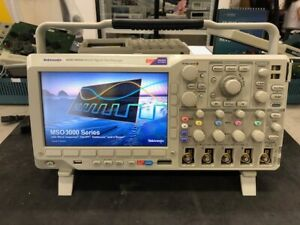 Tektronix Mso3054 500mhz 2 5gs s 4 16 Channel Mixed Signal Oscilloscope Cal