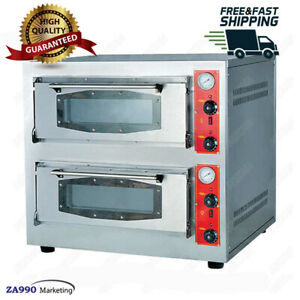Commercial Gas Pizza Oven With Firestone Machine