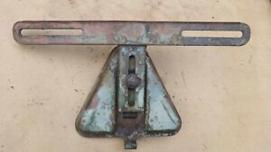 1937 1938 Plymouth Rear License Plate Mounting Bracket Original Trunk Lid Dodge