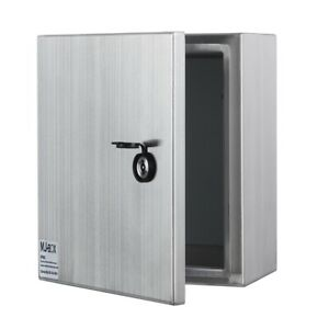 12 X 12 X 6 In 304 Stainless Steel Electrical Enclosure Ip66
