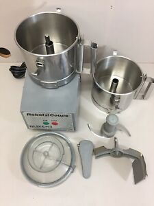 Robot Coupe Blixer 3 Commercial Food Processor Blender W Accessories