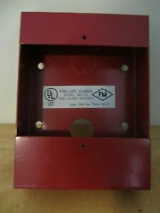 Fire lite Sb 10 Pull Station Metal Surface Mount Backbox For Fire Alarms