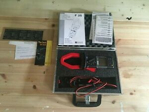 Chauvin Arnoux F25 Power And Harmonics Clamp Ac dc In Case With Manuals Etc