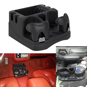 Car Center Universal Floor Console Storage Organizer Box Holder Cup Armrest Auto