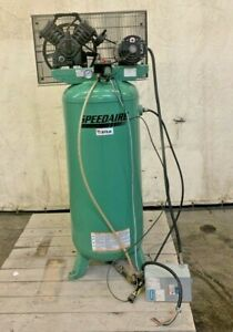 Speedaire Air Compressor 4me98a 5hp 240vac 60 Gal