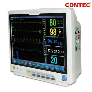 Big 15 Touch Color Icu Ccu Patient Monitor Multiparameter Vital Signs Monitor