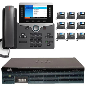The 10 Executive Cisco Ip Pbx Phone System With New Cisco 8800 Color Phones