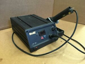Pace St115 Soldering Station St115 sx Soldering Iron Fully Working