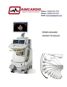 Philips Ie33 Ultrasound Warranty Included probes Available