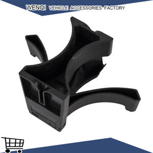 Fit Toyota Tacoma 2005 2015 Black Center Console Cup Holder Insert Divider