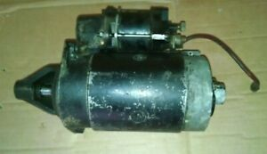 Lancia Scorpion Starter In Good Used Condition