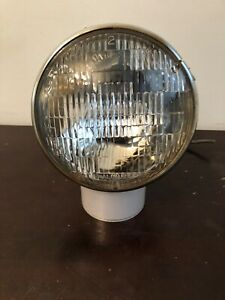 Vintage Dietz 9 82 Spotlight fog Light 6 1 2 Diameter Chrome Chrysler ford gm