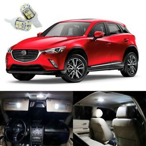 10 X Xenon White Led Interior Light Package Kit For Mazda Cx 3 Cx3 2016 2020